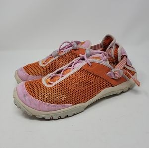 Salomon Contagrip Mesh Orange Hybrid Outdoor Sneakers Size 8.5